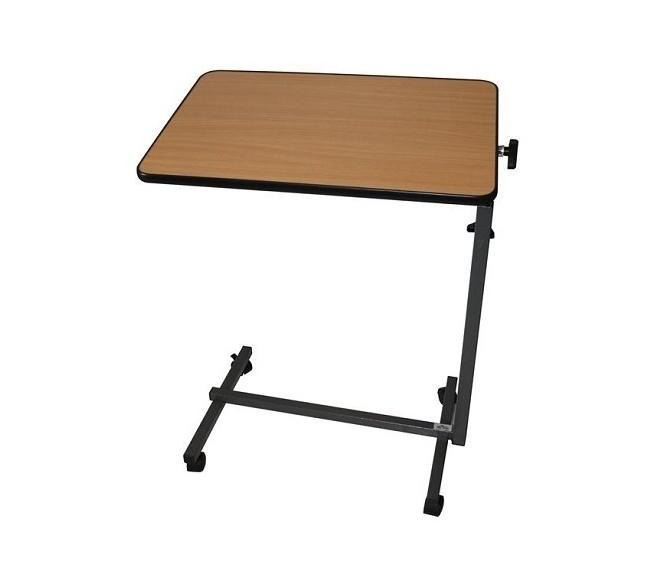 Table de lit piètement en H