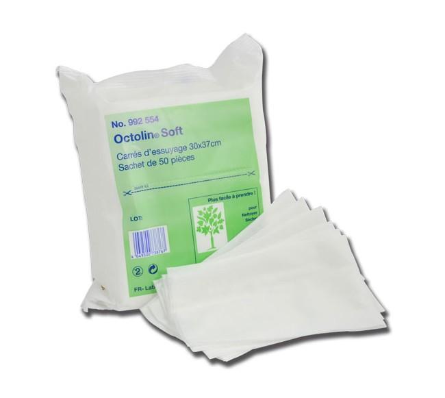 Carrés d'essuyage Octolin soft